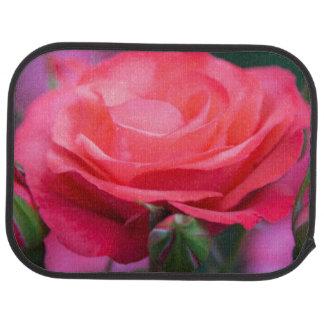 Rose from the Portland Rose Garden Car Mat