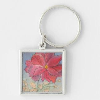 Rose Full Bloom Keychain