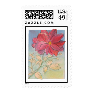 Rose Full Bloom Stamps