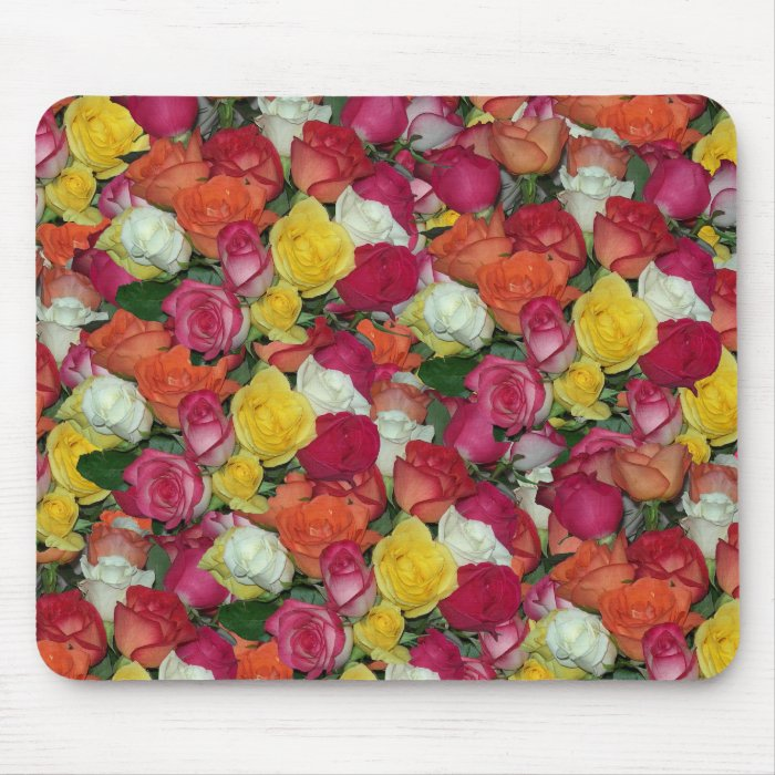 rose galore mouse pad