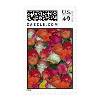 rose galore stamps