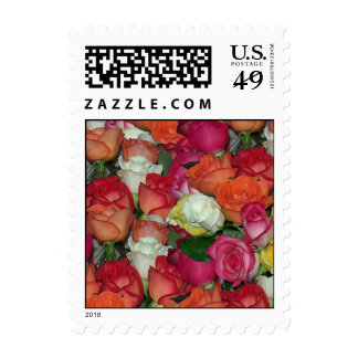 rose galore small stamp