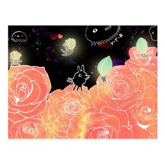 Rose garden 2014 postcard
