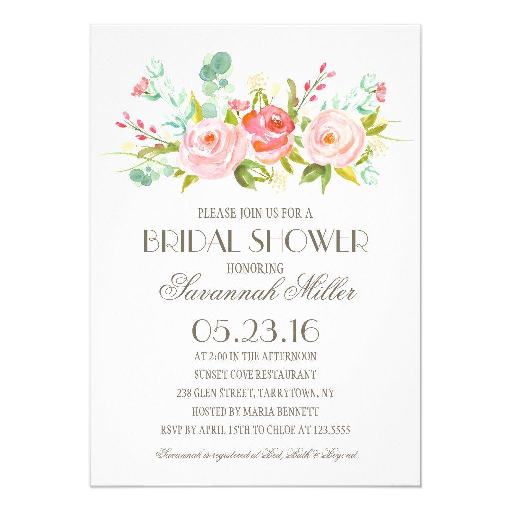 Rose Garden | Bridal Shower Card