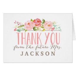Rose Garden | Bridal Shower Thank You Card