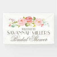 Rose Garden | Bridal Shower Welcome Banner