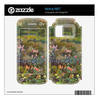 Rose Garden by Pierre Renoir Decal For Nokia N97