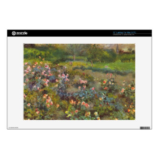 Rose Garden by Pierre Renoir Laptop Skins