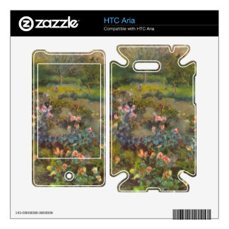 Rose Garden by Pierre Renoir Decal For The HTC Aria