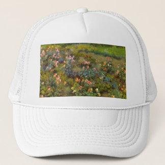 Rose Garden by Renoir beautiful impressionist art Trucker Hat