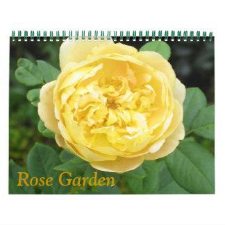 Rose Garden Calendar