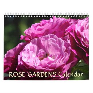 ROSE GARDEN Calendar Roses Flowers Gifts