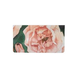 Rose Garden Checkbook Cover