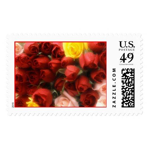 Rose Garden Design [1] [CUSTOMIZE] Stamps