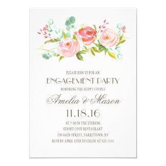 Rose Garden | Engagement Party Invitation