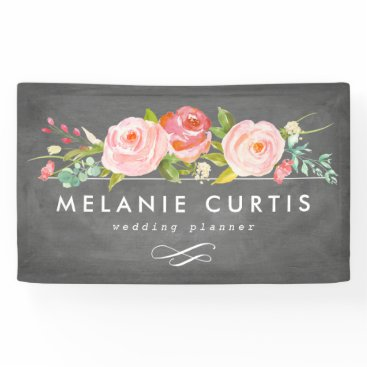 Professional Business Rose Garden Floral Business Banner