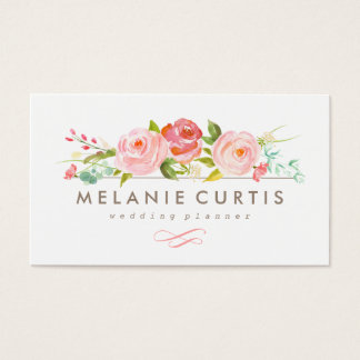 Rose Garden Floral Business Card