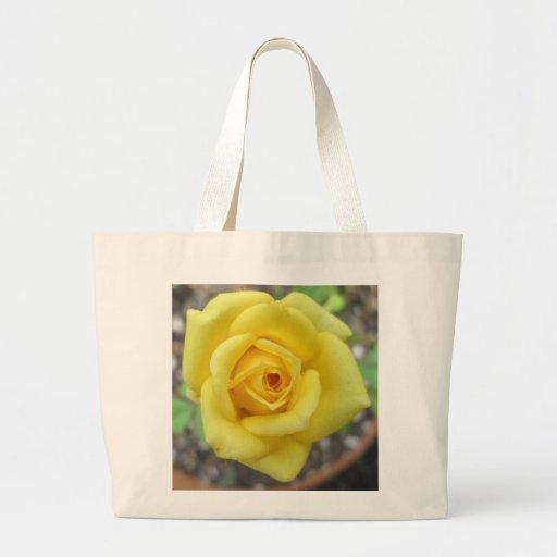 Rose Garden Flower Mini Yellow Bags