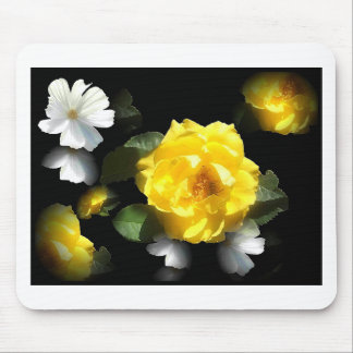 ROSE GARDEN MOUSE PAD