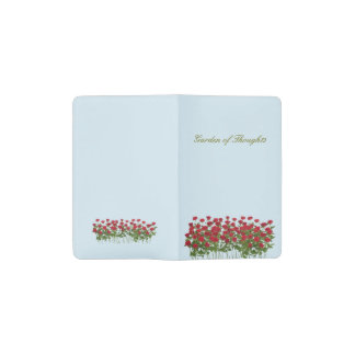 Rose Garden of Thoughts Notebook