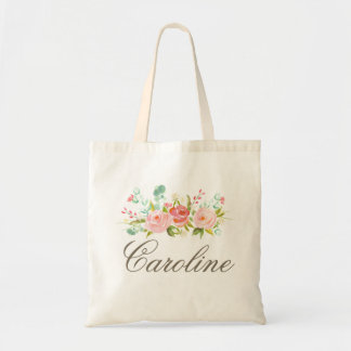 Rose Garden Personalized Tote