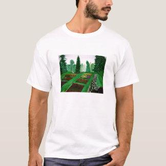 Rose Garden, Portland, Oregon watercolor painting T-Shirt