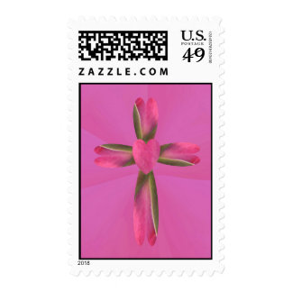 Rose Garden Postage Stamp