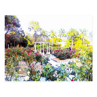 Rose Garden Post Cards