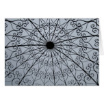 Rose Garden roof Greeting Cards