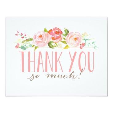 NBpaperco Rose Garden | Thank You Card