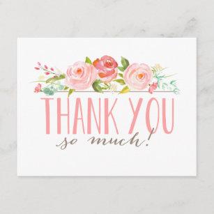 bridal shower thank you cards zazzle