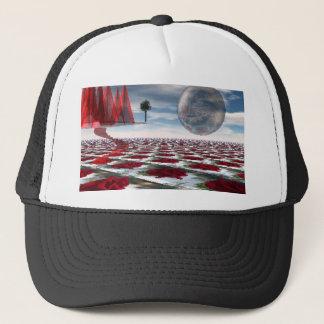 Rose garden trucker hat