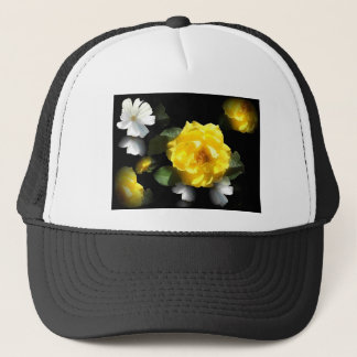 ROSE GARDEN TRUCKER HAT
