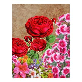 Rose Garden Vintage Letterhead