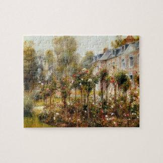 Rose Garden Wargemont by Renoir Jigsaw Puzzles