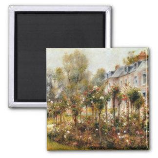 Rose Garden Wargemont by Renoir Magnet