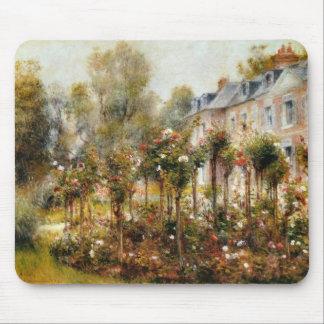 Rose Garden Wargemont by Renoir Mouse Pad