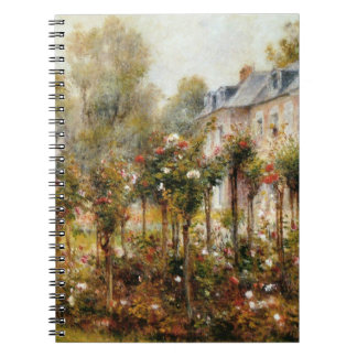 Rose Garden Wargemont by Renoir Notebook