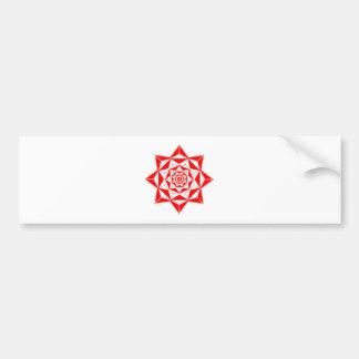 Rose Gem Bumper Sticker
