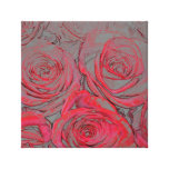 Rose Glow Wrapped Canvas Gallery Wrap Canvas