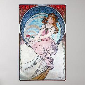 Rose Goddess Poster