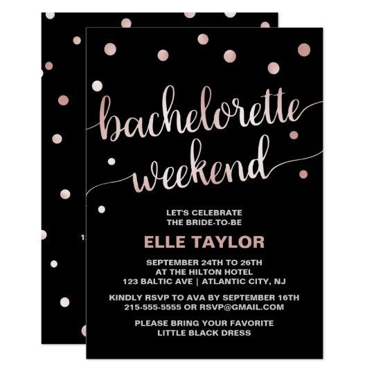bachelorette weekend invitations
