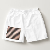 rose gold, black,stripes,pattern,modern,trendy,chi boxers