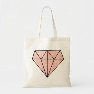Rose Gold Diamonds Tote