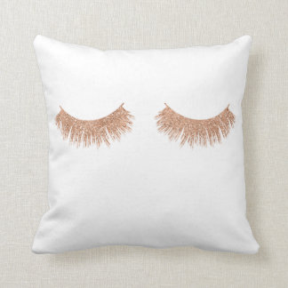 Rose Gold Pillows Decorative Amp Throw Pillows Zazzle