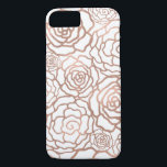 """Rose Gold Faux Foil 