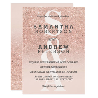 Monogram Wedding Invitations 15300 Monogram Wedding