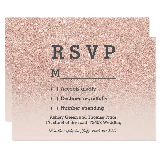 rsvp wedding card Minimfagencyco
