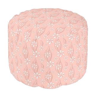 rose gold poufs pillows ottomans zazzle. Black Bedroom Furniture Sets. Home Design Ideas