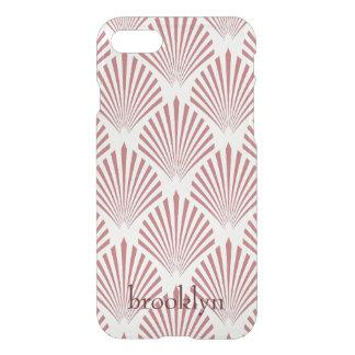 Rose Gold Geometric Seashell Shapes iPhone 8/7 Case
